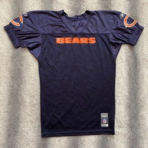 NFL Reebok Chicago Bears Jersey Boys M Blue Orange